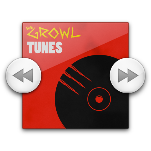 Logo for GrowlTunes