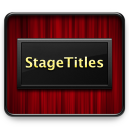 Logo for StageTitles