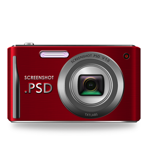 Logo for ScreenShot PSD