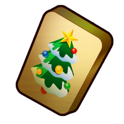 Logo for Christmas Mahjong
