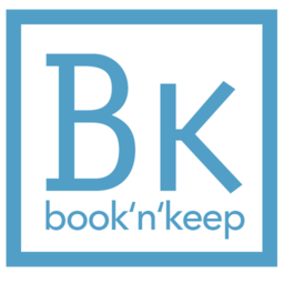Logo for book'n'keep