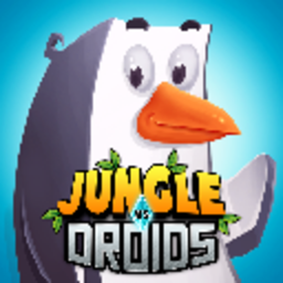 Logo for Jungle vs. Droids