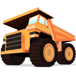Logo for Dump Truck for Mac
