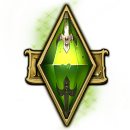 Logo for The Sims Medieval