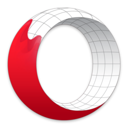 Logo for Opera Beta