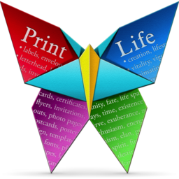 Logo for PrintLife