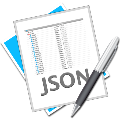 Logo for Cocoa JSON Editor