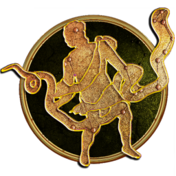 Logo for Zodiac Prophecies: The Serpent Bearer