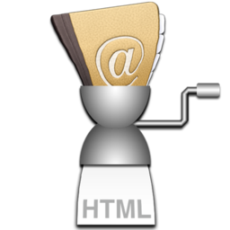 Logo for Address Book to HTML