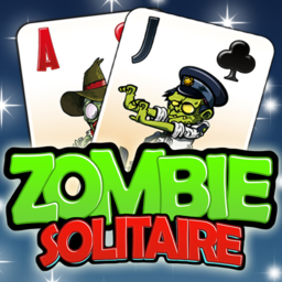 Logo for Zombie Solitaire