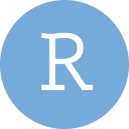 Logo for RStudio