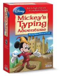 Logo for Disney: Mickey's Typing Adventure