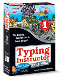 Logo for Typing Instructor for Kids Platinum