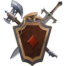 Logo for Legends of Solitaire: Curse of the Dragons