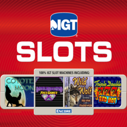 Logo for IGT Slots Wild Wolf