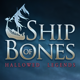 Logo for Hallowed Legends: Ship of Bones