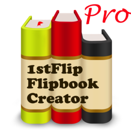 Logo for 1stFlip Flipbook Creator Pro
