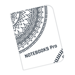 Logo for NoteBooks Pro