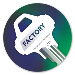 Logo for Password Factory