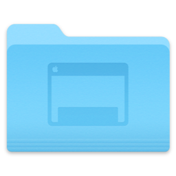 Logo for OS X Yosemite Folder Icons