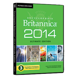 Logo for Encyclopedia Brittanica Ultimate Edition