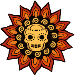 Logo for Calavera: Day of the Dead