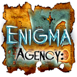 Logo for Enigma Agency: The Case of Shadows