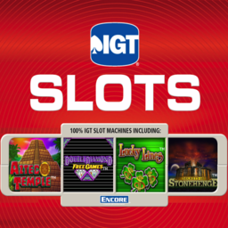 Logo for IGT Slots Aztec Temple
