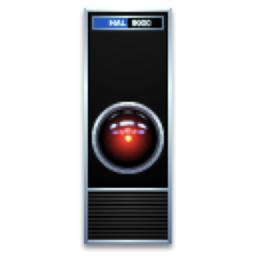Logo for HAL 9000
