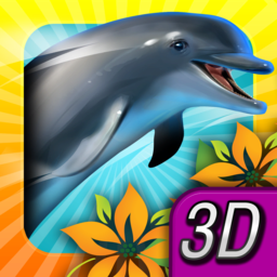 Logo for Dolphin Paradise: Wild Friends