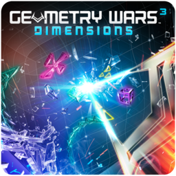 Logo for Geometry Wars 3: Dimensions