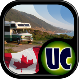 Logo for Ultimate Canadian Campground Project