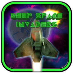 Logo for Deep Space Invaders