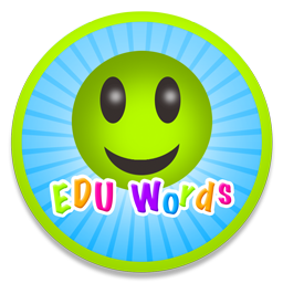 Logo for EDU Words