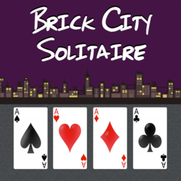 Logo for Brick City Solitaire
