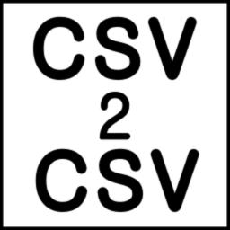 CSV2CSV