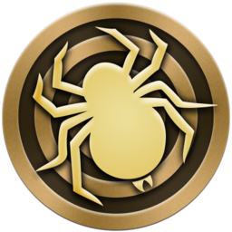 Logo for Spider Solitaire