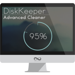 Logo for DiskKeeper Advanced Cleaner
