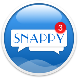 Logo for Snappy Messenger for Facebook