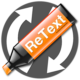 Logo for ReText