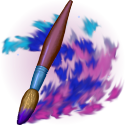 Logo for Cosmic Brush