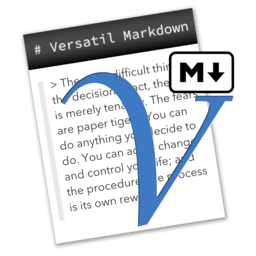 Logo for Versatil Markdown
