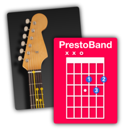 Logo for PrestoBand Guitar and Piano
