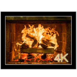 Logo for Fireplace 4K