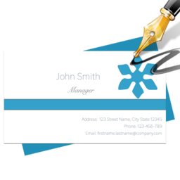 Business card shop 800 free download for mac macupdate blue penguin business card designer reheart Gallery