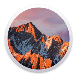 Logo for Apple macOS Sierra