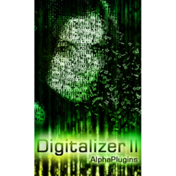 Logo for AlphaPlugins DigitalizerII
