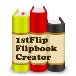 Logo for 1stFlip Flipbook Creator