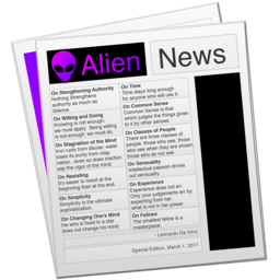 Logo for Alien News