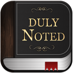 Logo for Duly Noted